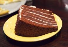 Roter Samt-Kuchen Stockfoto