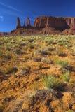 Roter Sand in der roten Wüste stockfotografie