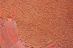 Roter Sandpapier-Hintergrund Lizenzfreies Stockbild