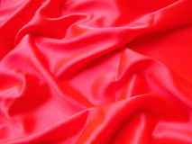Roter Satin Lizenzfreies Stockbild