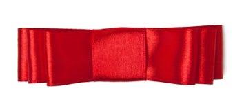 Roter Satinbogen stockfotos