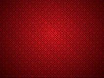 Roter Schürhaken-Hintergrund lizenzfreie abbildung