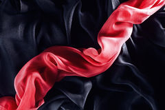 Roter Schal Stockbild