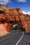 Roter Schluchttunnel Lizenzfreies Stockfoto
