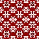 Roter Schneeflocken-Hintergrund stock abbildung