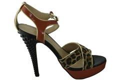 Roter Schuh Lizenzfreie Stockfotos