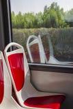 Roter Sitz Lizenzfreies Stockbild
