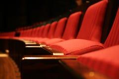 Roter Sitz Stockfoto