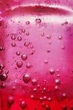 Roter Soda wate Hintergrund Lizenzfreie Stockfotos