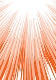 Roter Sonnelichtstrahl Lizenzfreies Stockbild