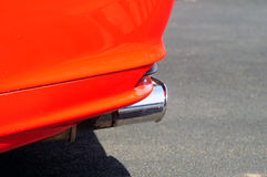Roter Sportwagen Stockfotos