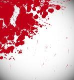 Roter Spritzenhintergrund Stockfotografie