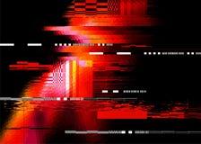 Roter Störschub-Hintergrund lizenzfreie abbildung