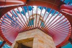 Roter Stahl Lizenzfreies Stockbild