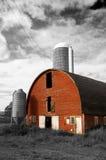 Roter Stall Lizenzfreies Stockfoto