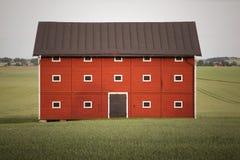 Roter Stall stockbilder