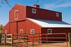 Roter Stall Lizenzfreie Stockbilder