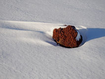 Roter Stein Stockfotografie
