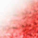 Roter sternenklarer Hintergrund Stockfoto