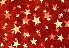 Roter Sternhintergrund Stockbild