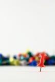 Roter Stift Lizenzfreies Stockbild