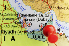 Roter Stift von Dubai U A e Lizenzfreie Stockfotos