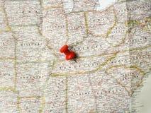 Roter Stift von Nashville stockbild