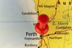 Roter Stift von Perth Australien Stockfotografie