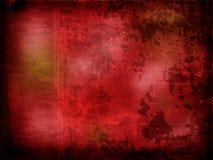 Roter strukturierter Rand Lizenzfreies Stockbild