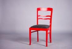 Roter Stuhl Stockfotografie