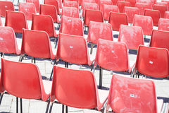 Roter Stuhl gezeichnet Roter Stuhl gezeichnet Roter Stuhl gezeichnet