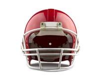 Roter Sturzhelm des amerikanischen Fußballs lizenzfreie stockfotos