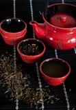 Roter Teacup Lizenzfreie Stockbilder