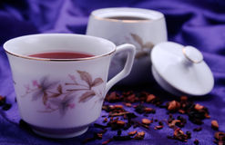 Roter Tee Stockfotografie