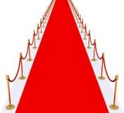 Roter Teppich Lizenzfreie Stockfotos