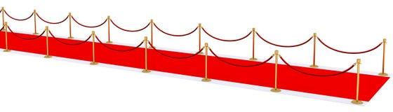 Roter Teppich Stockfotos
