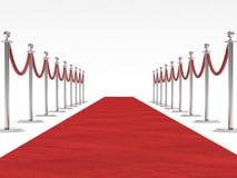 Roter Teppich Stockbilder