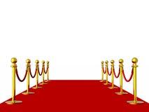 Roter Teppich Lizenzfreie Stockbilder