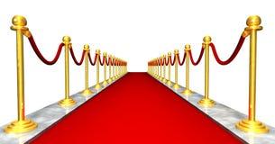 Roter Teppich-Eingang stock abbildung