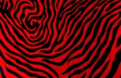 Roter Tiger Stripes Hintergrund Lizenzfreie Stockbilder