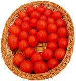 Roter Tomate-Hintergrund Stockfotografie