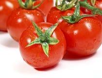 Roter Tomatehintergrund Lizenzfreie Stockbilder