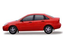 Roter Toyota Stockbilder