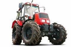 Roter Traktor Stockbilder