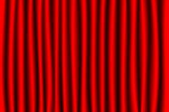 Roter Trennvorhang Lizenzfreie Stockbilder