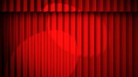 Roter Trennvorhanghintergrund Lizenzfreie Abbildung