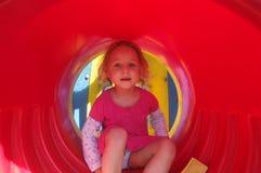 Roter Tunnel Lizenzfreie Stockfotos