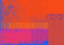 Roter und purpurroter Hintergrund Lizenzfreie Stockfotografie