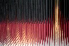Roter und schwarzer abstrakter glühender Hintergrund Lizenzfreie Stockbilder