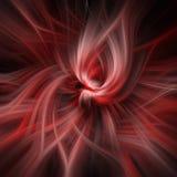 Roter und schwarzer Auszug Lizenzfreie Stockfotografie